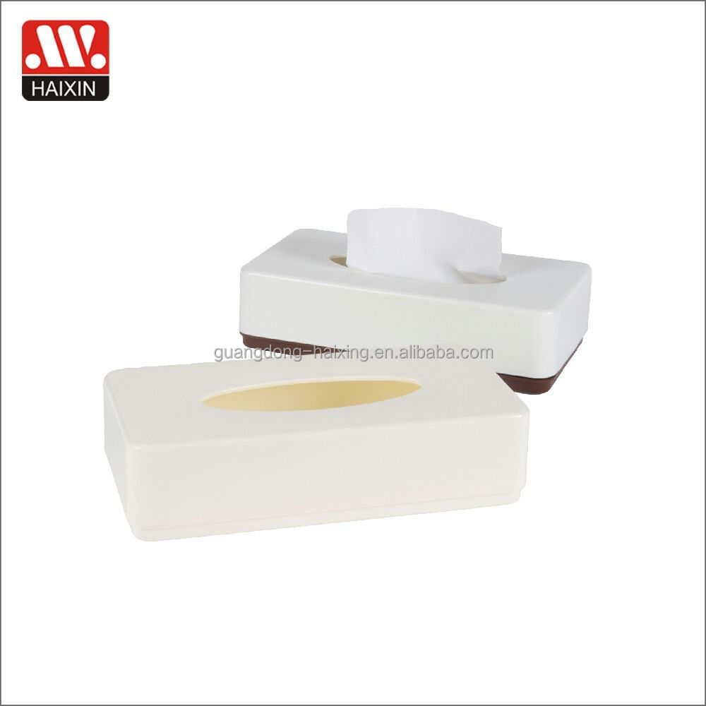 Wholesale custom funny printed mini wet paper plastic tissue box for table and car