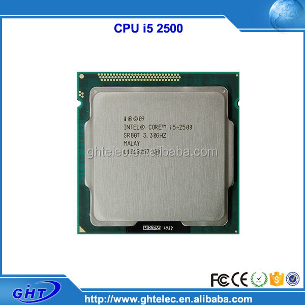 Factory for sale i5 2500 3.3GHz lga1155 Socket cpu processor used