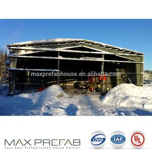 W375 Norway Eco Friendly Prefab Steel Structure Warehouse India