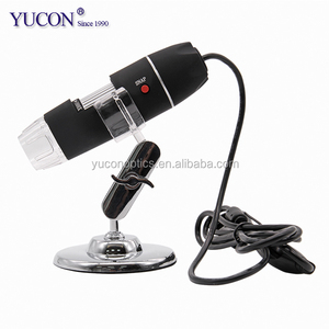 China Hot Sale Stereo Biological Portable Pocket Mini Camera Magnifier 200X 1000X Digital Video Microscope With 8 LED Lab USBCCD