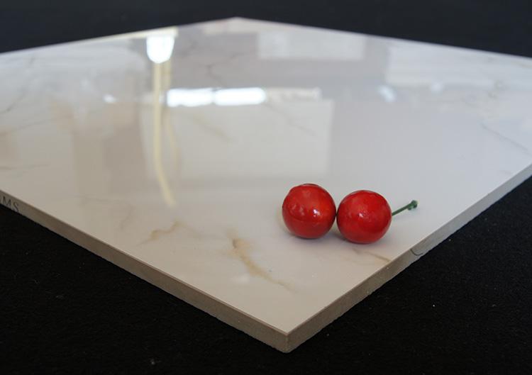 24x24 pavimento di piastrelle lucido gres porcellanato smaltato bianco piastrelle di ceramica id - Piastrelle 15x15 bianco lucido ...