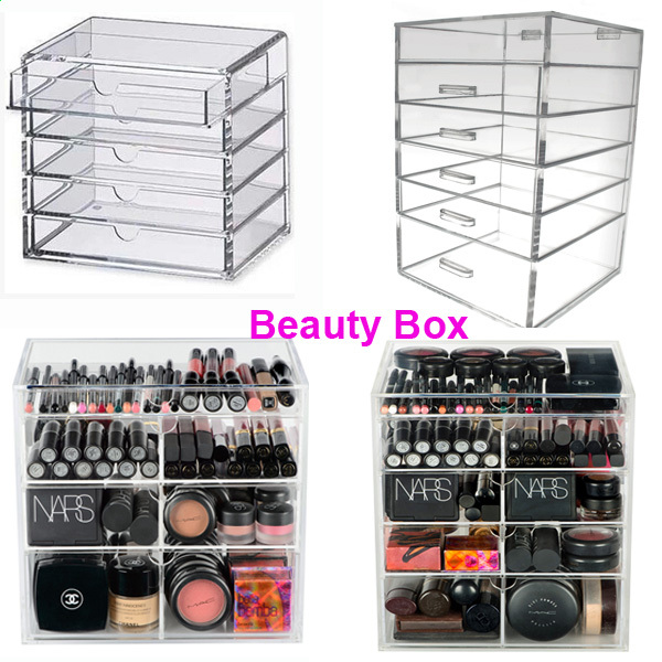 Wholesale 72 Slots 360 Degree Rotating Lipstick & Lip Balm Tower Stand Holder Pop Acrylic Round Cosmetic Display Racks