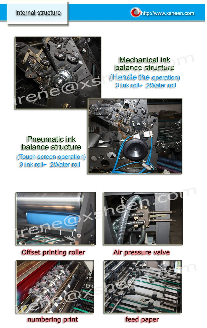 Color press printing - Dominant Perfector Offset Two Color Press Printing Machine