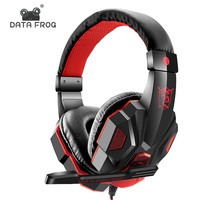 Custom Logo Gaming Headset for PS4 Camo Leather 7.1 PC Headset Gaming With Mic Gamer Headphones Surround Sound