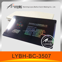 plastic card manufacturer supplier easy printing solution superb rainbow shining PVC business card