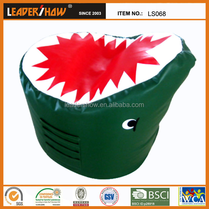 Funny Cartoon kids bean bag chair filling with beads from zhejiang leadershow ls068