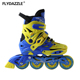 Adjustable salom finger roller skates artistic inline skates boot sports skates