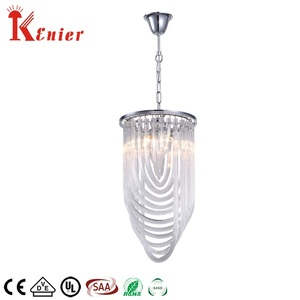 New design Home decorative crystal modern chandelier contemporary pendant lamp