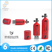 Fire Extinguisher Custom USB 1GB 2GB 4GB 8GB Real Memory Gift
