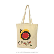 Full color heavy duty custom printed canvas tote bags