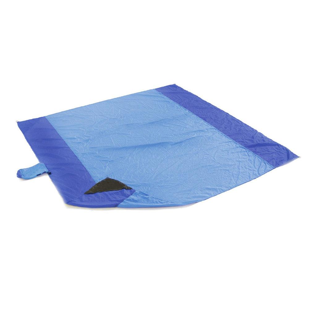 Beach Blanket No Sand: 210t Nylon Parachute Beach Blanket