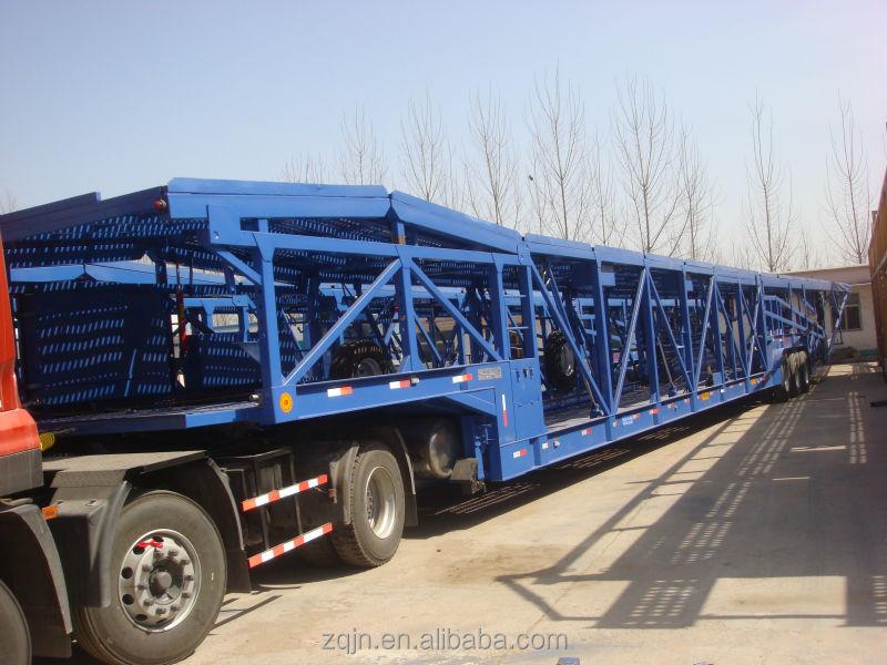 10 car carrier for sale  Hot sale Tri axle car carrier truck , car carrier truck trailer for ...