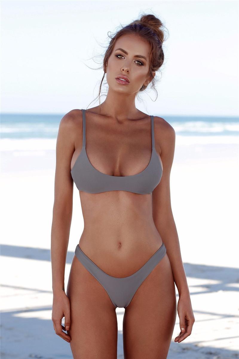 Female 2018 Sexi Ladies Open Swimwear Packaging Bikini