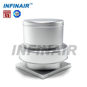 industrial centrifugal roof ventilation fan for fire smoke exhaust