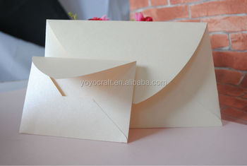wedding invitation card envelopes design the size and color can be customized