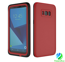 Excellent PC+TPU+PET material deep waterproof cell phone case for Samsung S8/S8plus with reasonable price