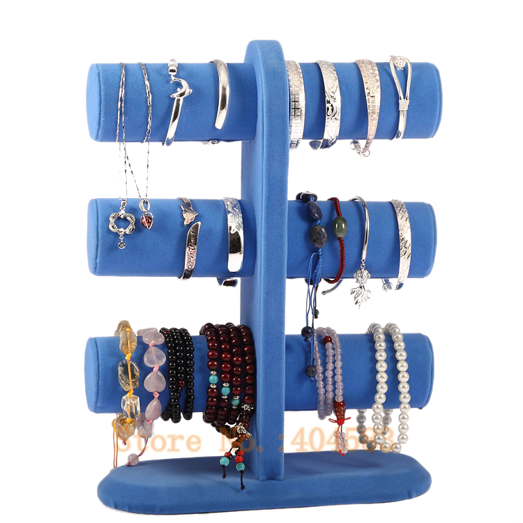 Aliexpress.com : Buy Special Design 3 Tier Blue Bracelet