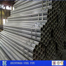 Round Pre-galvanized Steel Pipe For Muffler For Bmw