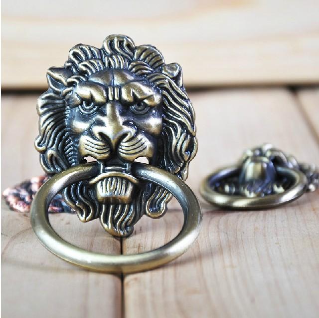 Decorative Kitchen Cabinet Knobs: UNILOCKS Decorative Hardware Lion Head Kitchen Cabinet