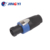 CE Approved CE certificate plastic cable speakon connector for amp