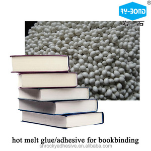 ROCKY free sample perfect binding hot melt spine Glue For Bookbinding