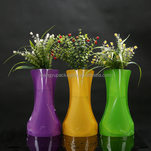 Pet Plastic Folding Vase Source Quality Pet Plastic Folding Vase