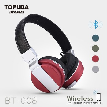 bluetooth headphones with mic volume control on each wireless headset buy bluetooth headphone. Black Bedroom Furniture Sets. Home Design Ideas