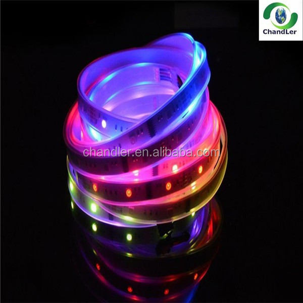CHANDLER 6803IC LED magic strips <strong>rgb</strong> /multicolor led light strip AC/DC12V