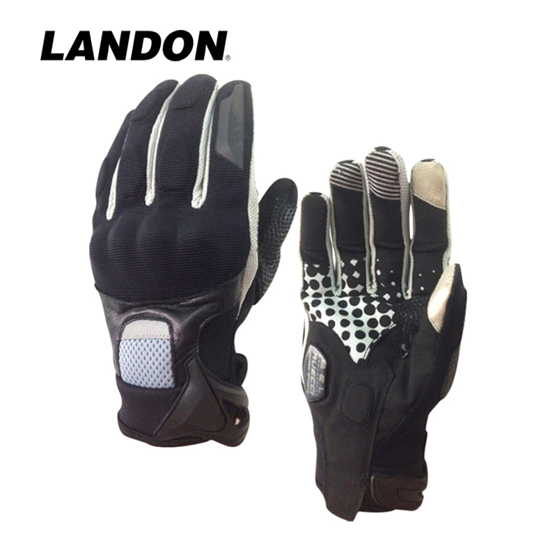 Motorcycle gloves synthetic leather breathable High performance shock absorption 2018 new comfortable for motorcycle sports