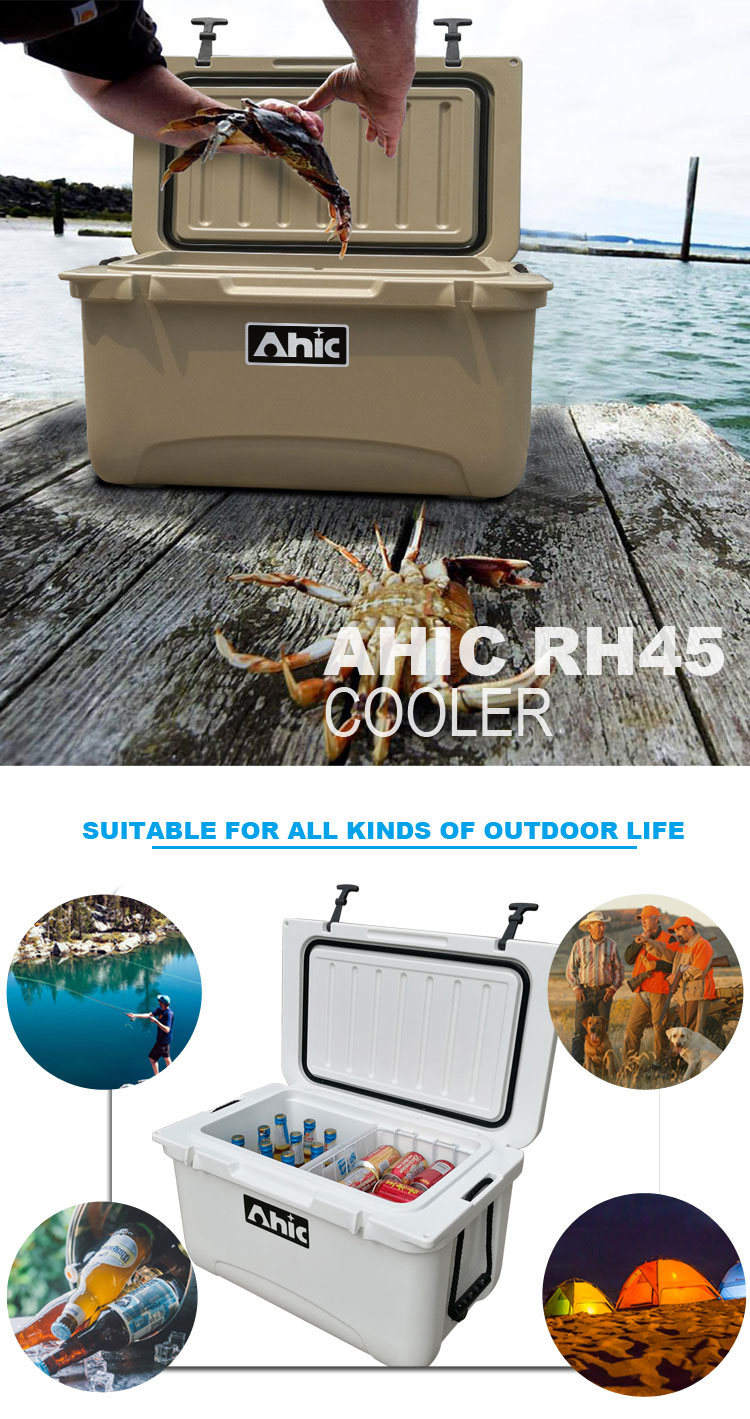Custom Printing Warm And Chilled Food Thermo Boxes Dry Ice Freezer For Camping