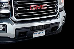 Putco Black Stainless Steel Punch Bumper Grille Insert for 2015 GMC Sierra HD