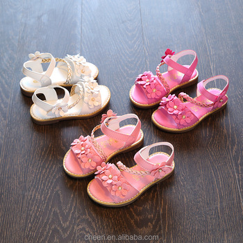 KGGS 2017 New Kids Sandals Summer Shoes Leather Fancy Kids Girls Baby  Sandals