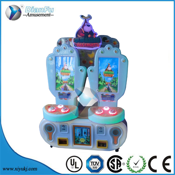 2016 hot Pat Fruit Video Commercial Arcade Game Machine kids coin operated game machine