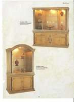 Antique Reproduction Cocktail Kitchen Cabinet