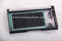 2016 new arrival synthetic eyelash,real human hair eyelash, in B,C,D,J,L curl eyebrow, 8mm-14mm mix length