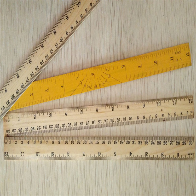 Wholesale Wooden Ruler Material and Straight Ruler