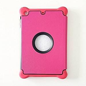 Ipad Mini Case, Afranker Smart Protector Case with Auto Sleep/Wake Function For Ipad Mini 1 / 2 / 3 Pink