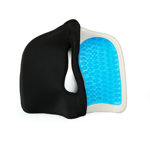 Newest Enhanced Coccyx Bus Car Driver Sofa Wheelchair Seat Cushion Orthopedic Soft Cooling Car Gel Seat Cushion For Back