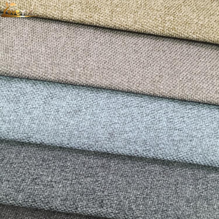 En gros Rideau D'ameublement Lin Tissu Pour Textile À La Maison