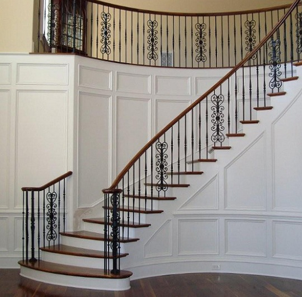 Europe style house used wrought iron stair railing buy