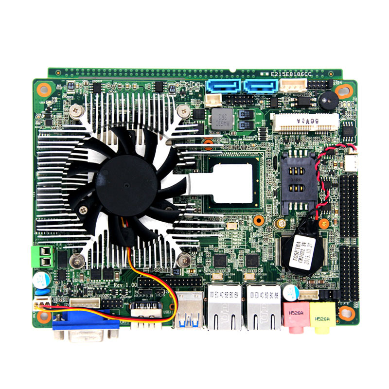 wholesale prices oem usb3.0 mainboard support 8GB DDR3/intel core3 i3-3110 2.40GHz cpu/VGA/6COM RS232 embedded motherboard