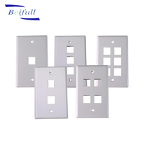 US type Network RJ45 Socket Wall mount Face Plate