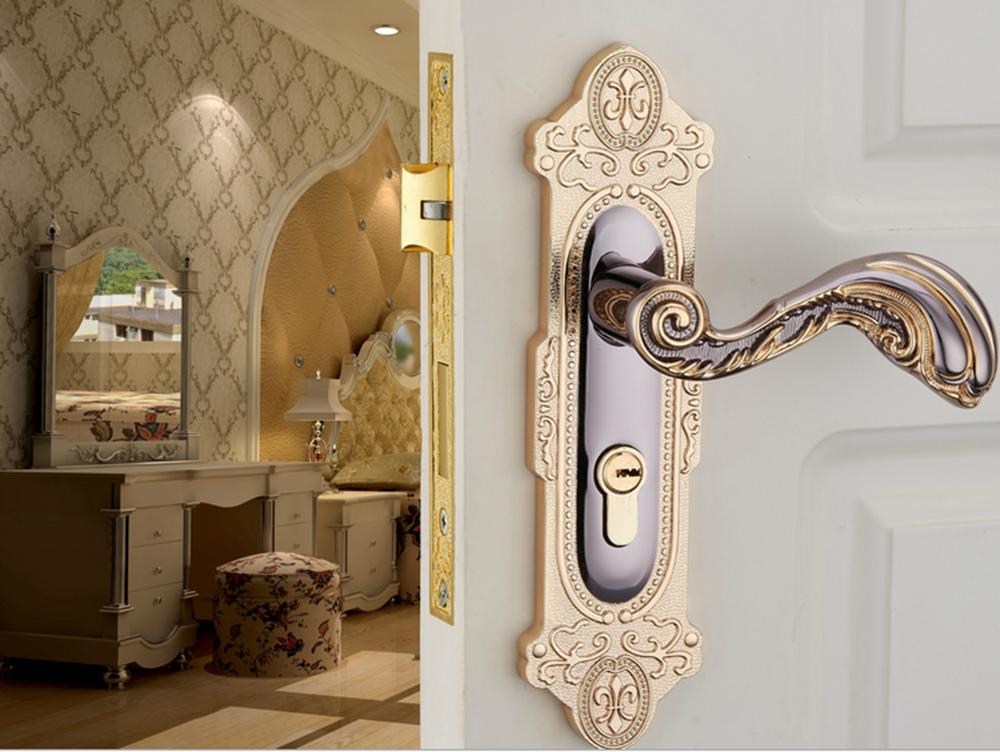 Fancy Lever Handle Mortise Lock Hotel Door Lock Design