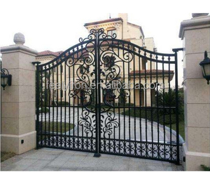 affordable house main wrought iron gate designs