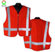 High visibility custom mens work camo safety vest