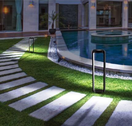 Delightful 300mm Alumilum High Tech Garden Light Pole
