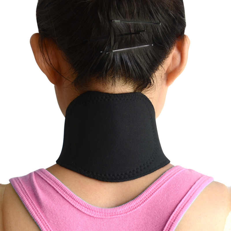 Good design Self Heating Neck Brace / Neck Pad Support Brace Massage Belt / neck massage belt