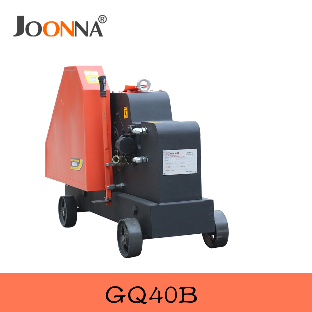 Alibaba gold supplier 32mm bar cutting machine