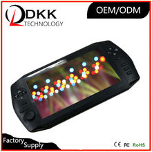 Quality 7 inch screen android game console 8GB support wifi Video Music tablet game console game box