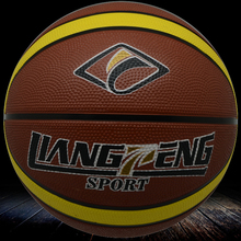 sports equipments 7# rubber material basketball,basketball in official size